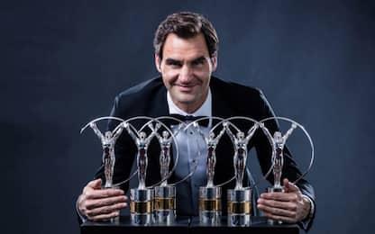 Ancora lui: Laureus Awards, Federer protagonista