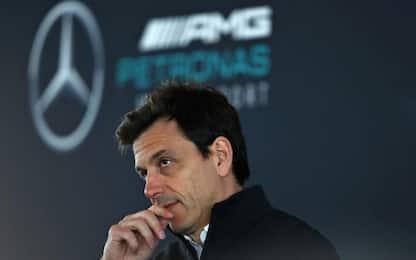 """Wolff vede rosso: """"Ferrari favorita del Mondiale"""""""