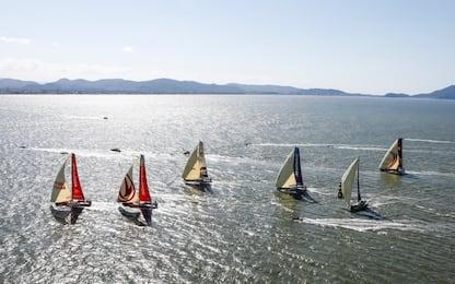 Volvo Ocean Race, è partita l'ottava tappa