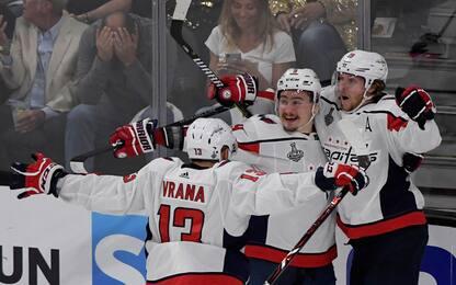 Stanley Cup, i Capitals pareggiano la serie: 1-1