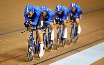 Ciclismo, Italia: uomini d'oro e donne d'argento
