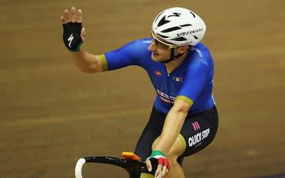 Europei ciclismo: Viviani d'argento nell'Omnium