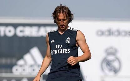 Inter, Modric si è allenato. Perez prende tempo