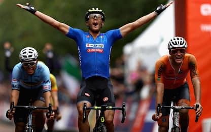 Ciclismo su strada, oro europeo per Trentin