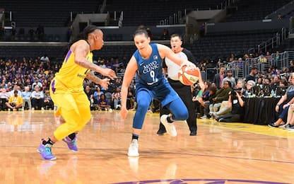 WNBA, Cecilia Zandalasini subito out ai playoff