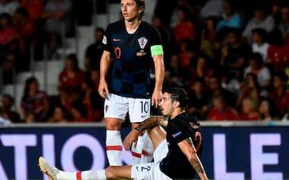 """Vrsaljko, problema al ginocchio: """"Nulla di grave"""""""