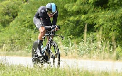 Ciclismo, Moscon campione italiano a cronometro