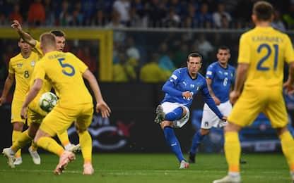 Il bel gioco non basta, Italia-Ucraina 1-1