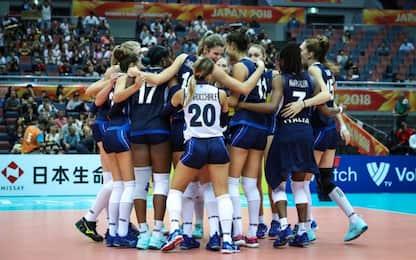 Final Six: Italia con Serbia e Giappone