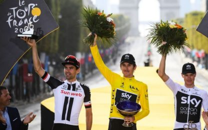 Team Sky, rubato trofeo del Tour vinto da Thomas