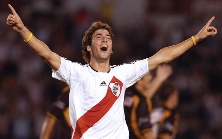 L'esultanza di Higuain con il River Plate (getty)