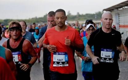Maratona, Will Smith di corsa a L'Avana