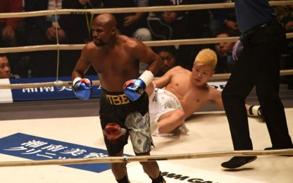 Mayweather, che ritorno: Nasukawa ko in 2 minuti