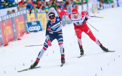 Tour de Ski Oberstdorf, Klaebo vince la 15 km