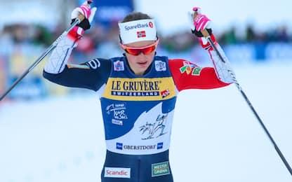 Tour de Ski, Oestberg vince la 10 Km Oberstdorf