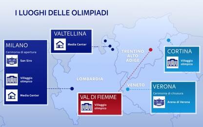 Olimpiadi 2026, da San Siro all'Arena di Verona
