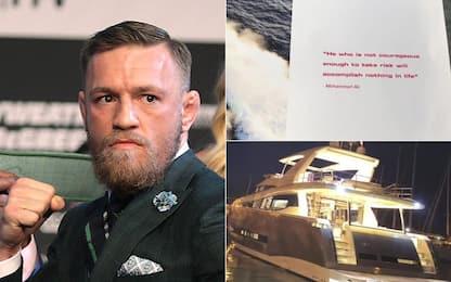 """McGregor, yacht """"dedicato"""" ad Ali... con gaffe"""