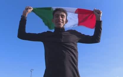 """Il sogno azzurro di Ayoub: """"Ho l'Italia nel cuore"""""""