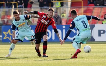 Serie B: Pescara fermato dal Foggia, ok il Livorno