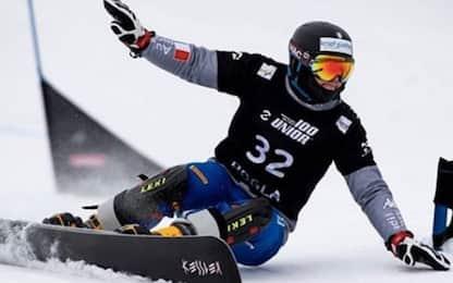 Snowboard, Bagozza vince in Cina. Fischnaller 3°