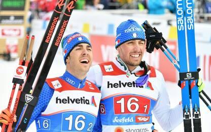 Pellegrino-De Fabiani, è bronzo nella Team Sprint