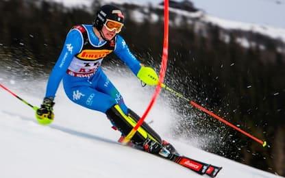 Mondiali juniores, che oro per Vinatzer in slalom