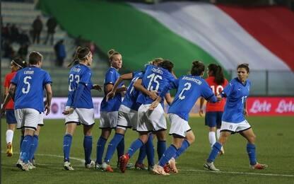 Cyprus Cup, Italia esordio con cinquina al Messico