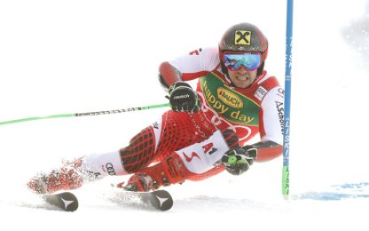 Slalom Kranjska a Kristoffersen, Coppa a Hirscher
