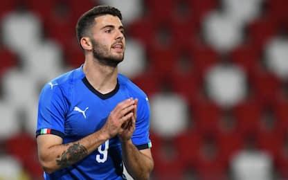 Azzurrini sbiaditi, Italia-Austria 0-0