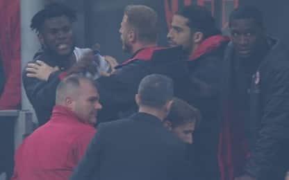 Lite Kessié-Biglia, il Milan multa i due giocatori