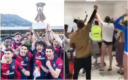 Viareggio Cup al Bologna, è festa prima squadra