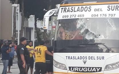 Scontri prima di Flamengo-Penarol: un ferito grave