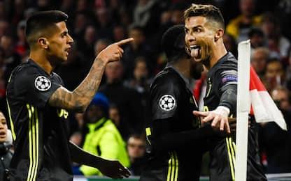 """CR7: """"Felice per il gol, ottimo lavoro di squadra"""""""