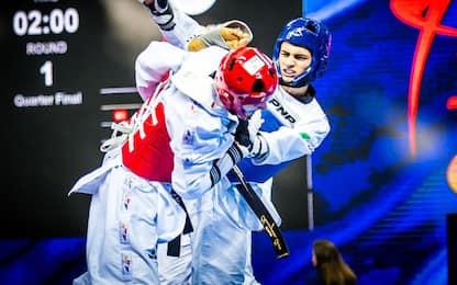 """Taekwondo, Dell'Aquila: """"Pronto al mio Grand Prix"""""""