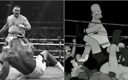 Joshua, storico ko. E Ruiz sembra Homer Simpson