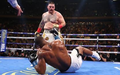 Joshua, clamoroso ko! Perde il titolo contro Ruiz