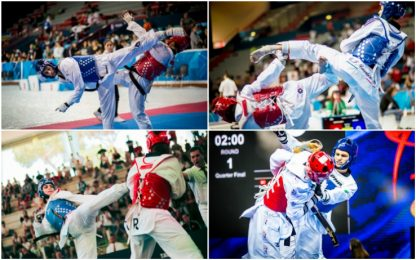 Taekwondo Grand Prix Roma: vigilia degli azzurri