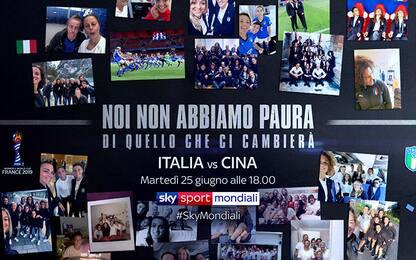 """""""Io non ho paura"""": il cammino verso Italia-Cina"""