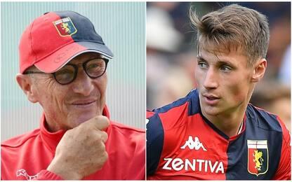 Genoa, 7-0 all'Innsbruck: Pinamonti tris. FOTO