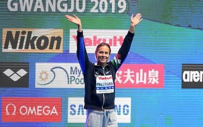 Leggenda Pellegrini: quarto oro mondiale nei 200