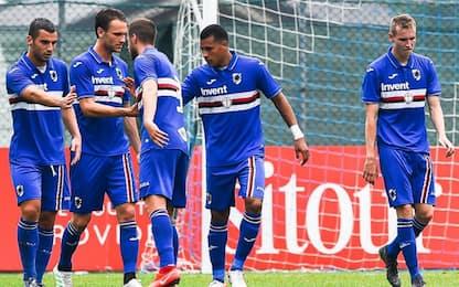 Samp e Sassuolo ok, Chancellor in gol col Brescia