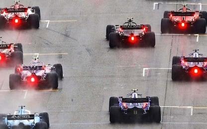 La griglia di partenza del GP d'Ungheria