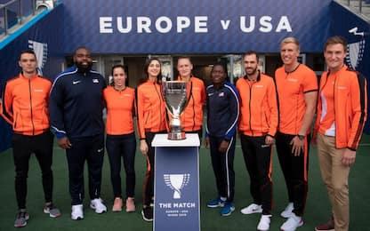 La sfida dell'atletica. The Match: Europa-Usa