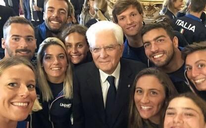 """Nuoto, Pellegrini a Mattarella: """"Ci protegga"""""""