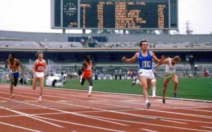 Pietro Mennea, 40 anni fa il record sui 200 metri