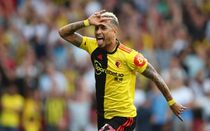 Beffa Arsenal, il Watford rimonta da 2-0 a 2-2