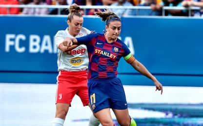 Barça-Juve 2-1: bianconere fuori dalla Champions