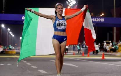Mondiali, Giorgi di bronzo nei 50 km di marcia