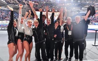 Mondiali ginnastica: fate d'Italia, storico bronzo