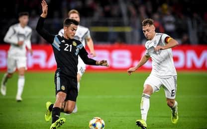 L'Argentina rimonta la Germania: 2-2 a Dortmund